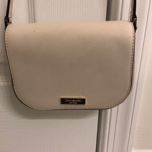 Kate spade crossbody white purse